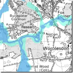 Pirbright Flood Zones
