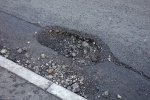 Pothole on Maultway nr Yockley Close
