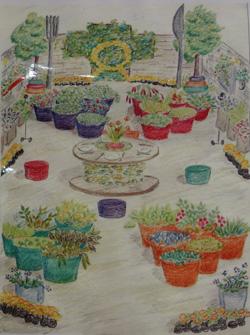 Moveable Feast garden design