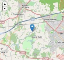 Basingstoke Canal landslip