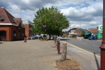 After the changes to the treescape in Lightwater village square
