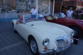 Me imagining myself driving a 1959 MG 'A' Twin Cam