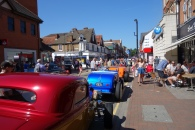 Hot rod heaven in the High Street