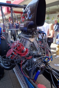 Engine of a top fuel dragster