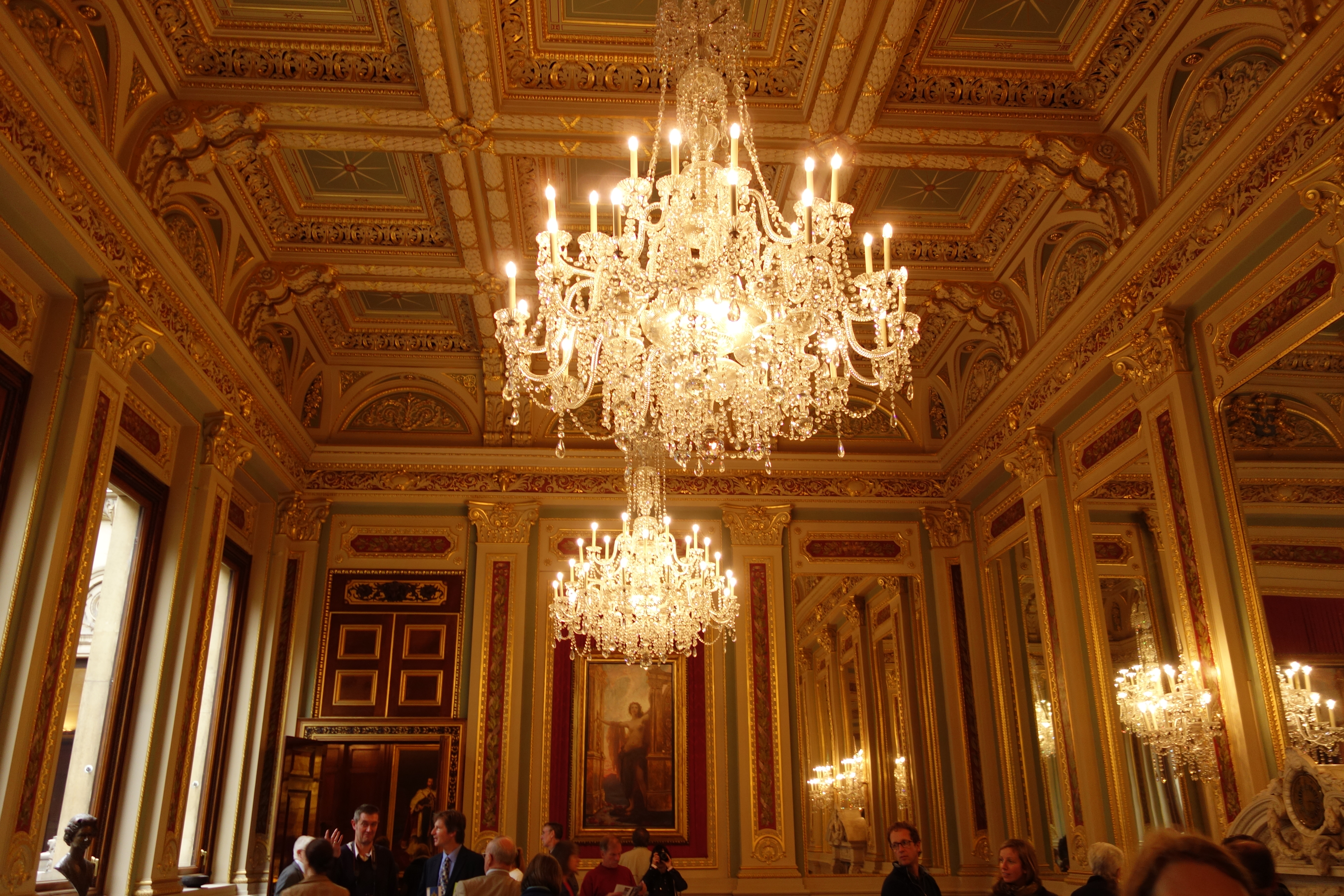 Chandeliers in the drawing room lightwater published september 24 2013 at 5472 3648 in arubaitofo Images