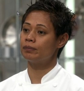 Monica Galetti on MasterChef The Professionals