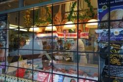 2-George Arthur Butchers festive window display