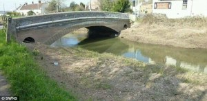 River Parrett at Burrowbridge in recent times