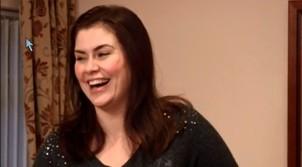 Amanda laughs at my joke