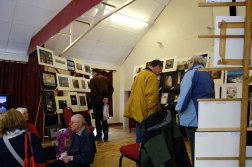 The camera club in the Church Hall