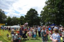 1-Crowds at the Bisley Strawberry Fayre