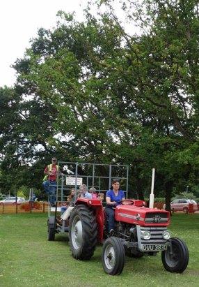 23-Popular tractor rides