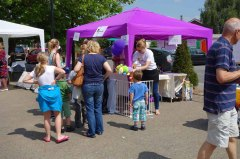 4-Christopher's Smile and Lakeview Care Home stall