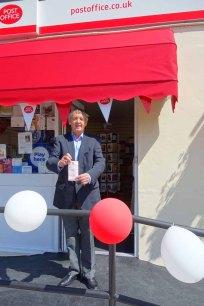 5-Cllr Edward Hawkins of Parkside ward spends money in Lightwater