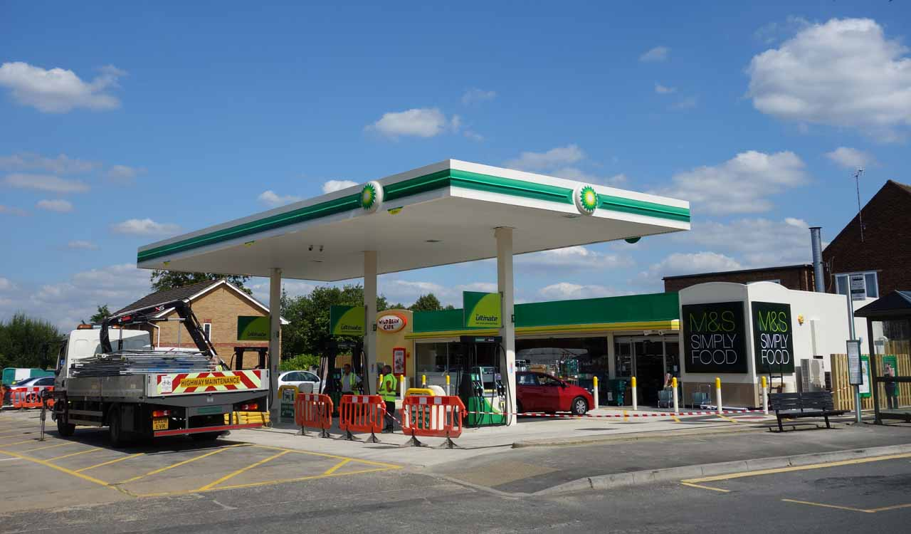 Open Gas Stations Near Me >> Lightwater's BP Petrol Station and M&S Simply Food store now open | Lightwater