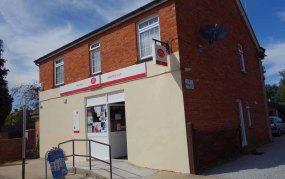 Lightwater Post Office in early July