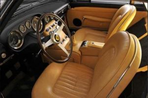 1962 Ferrari 250 GT Short-Wheelbase interior