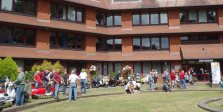 3-The front lawn of the Council offices