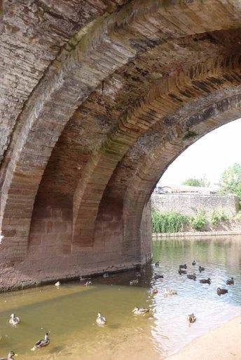 3-Underside of Monnow Bridge