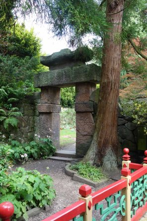 7-Stone gateway leads into more of the China garden