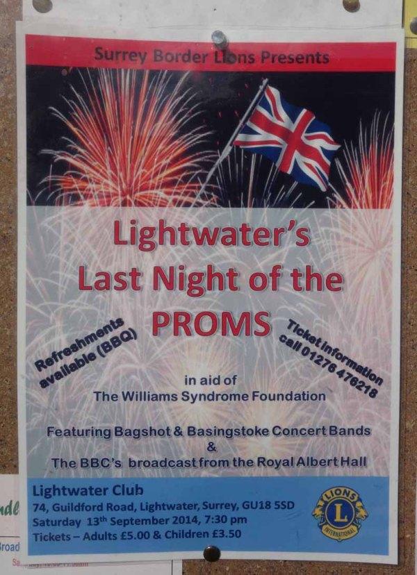9-Lightwater's Last Night of the Proms
