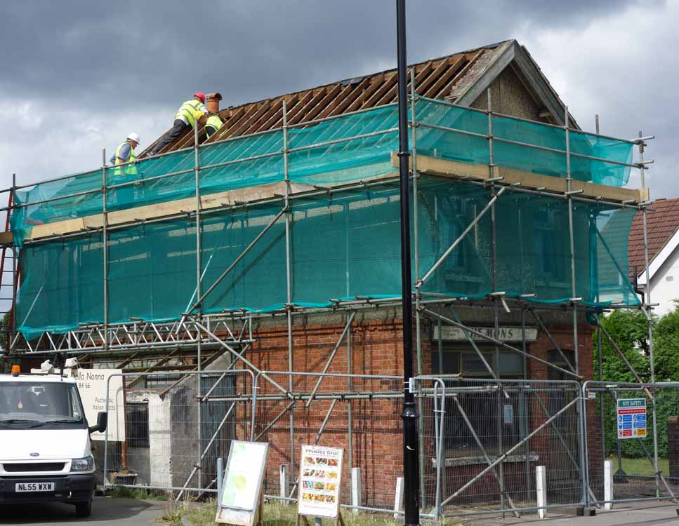 renovation at Frimley Green