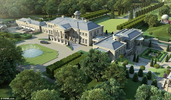 Windlesham House plans
