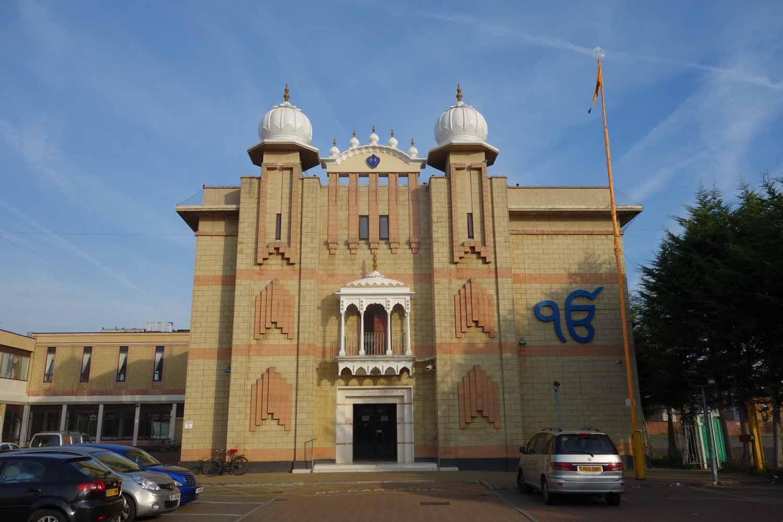 1-Sri Guru Singh Sabha Gurdwara at Hounslow  Lightwater