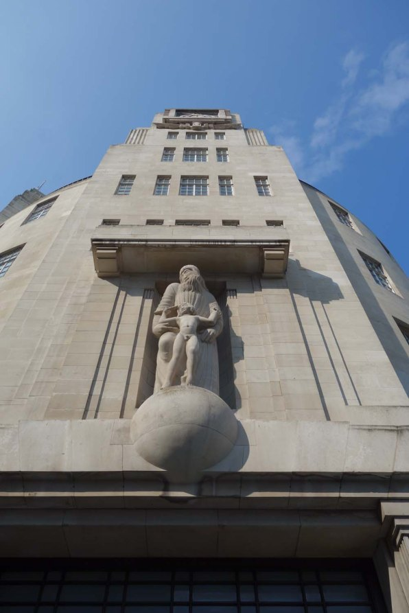 13-Eric Gill's sculpture at Broadcasting House