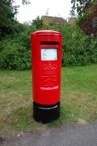 Post Box repainted