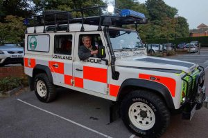 Surrey Search & Rescue vehicle