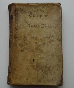 Bedfont & Bagshot Turnpike Trust Minute Book