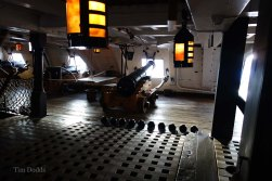 6a-Straight onto a gun deck on entry