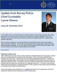 Chief Constable's Update - November
