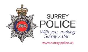 Surrey Heath Police crime bulletin: October 2017, 2nd Update