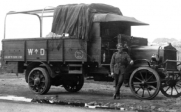 A-1917 AEC 3 ton lorry with 'subsidy' engine