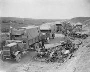 B-Maudslay 3-ton lorries in 1918