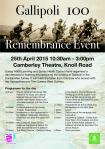 Gallipoli event