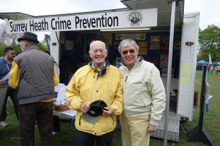 13-The Surrey Heath Neighbourhood Watch Chairman & me