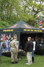 15-Army cadet stand