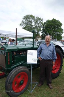 5-Tim Price and one of his tractors