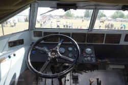 11-The driver's seat of a DUKW