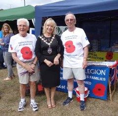 17-Britsih Legion with the Mayor