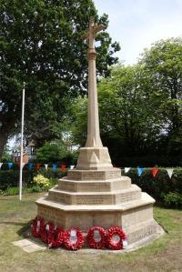 Bagshot War Memorial at St Anne's Church