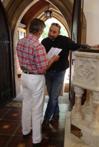Talking with Rev Andreas Sistig