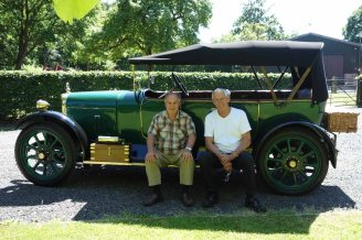 Tim Price & Alan Ray and the Belsize car