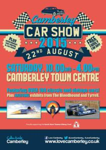 Camberley Car Show 2015