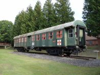 4-MOD ambulance train carriage from 1970's