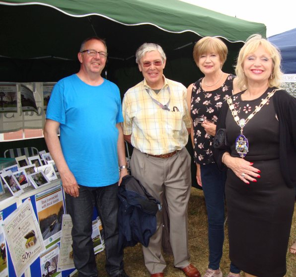 1-MFG&D Society's tent at 2015 Frimley Green Carnival