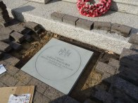 3-The paving stone for Captain Garth Walford VC